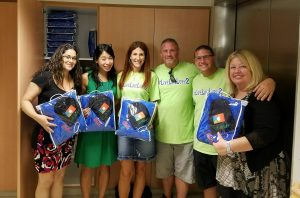 Comfy Packs Delivered to Sloan Kettering Cancer Center
