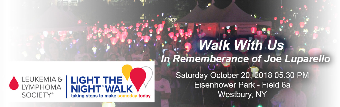 Light The Walk - October 20th 5:30
