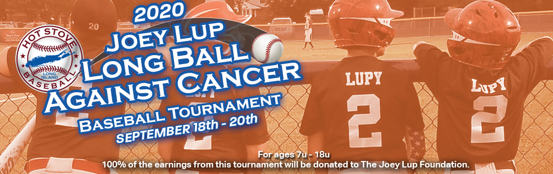 Joey Lup Long Ball For Cancer - September 18th - 20th